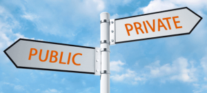 Convert a private company into a public one